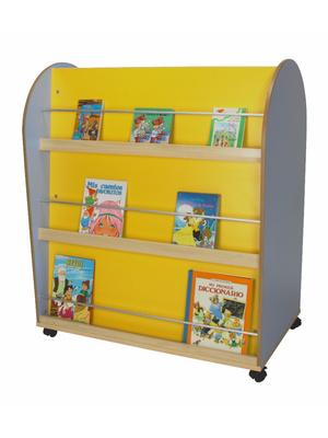 Estanterias y librerias infantiles expositores bancos - Mueble biblioteca infantil ...